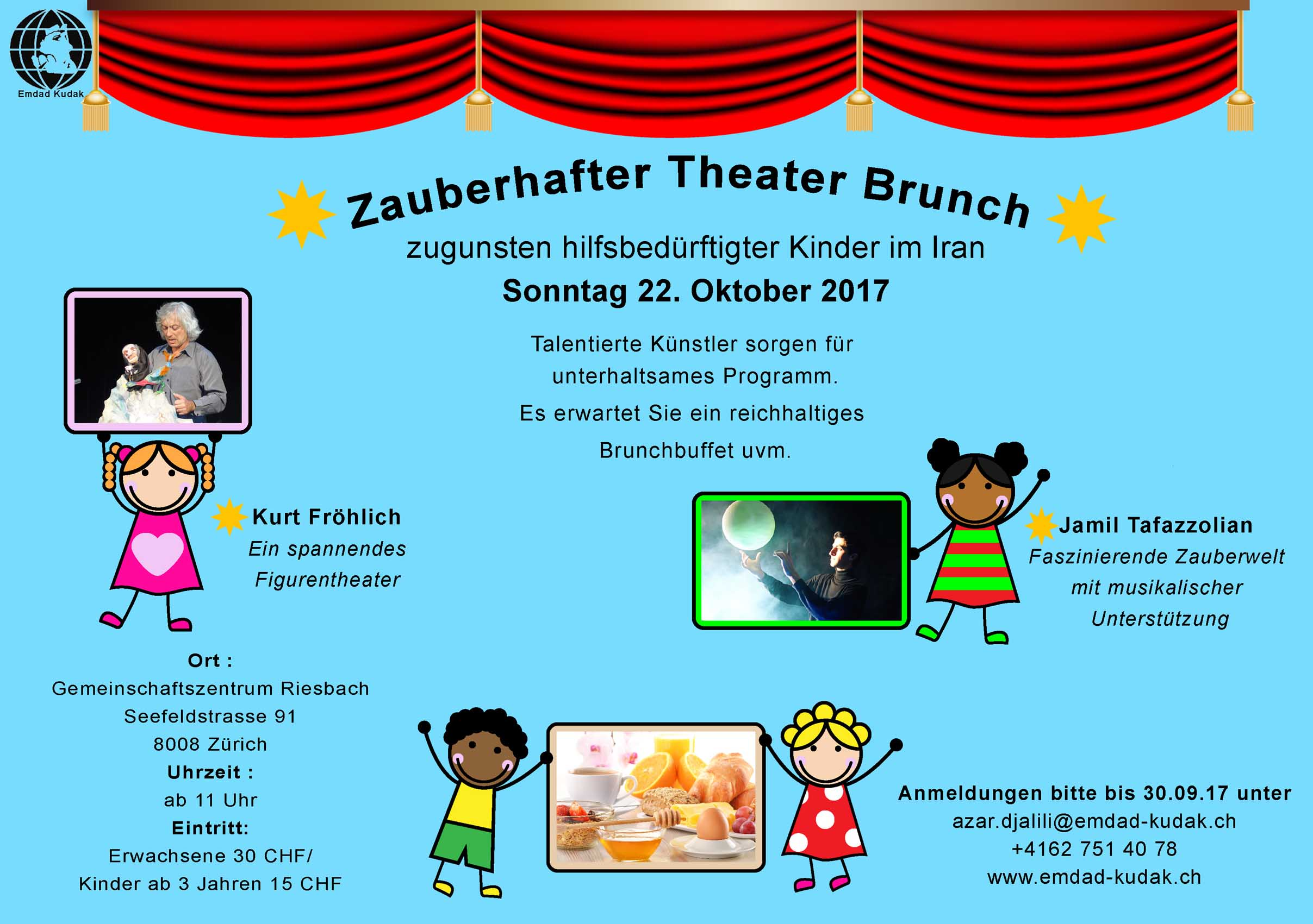 Zauberhafter Theater Brunch 2017